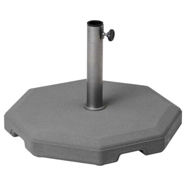 ХЮВОН Опора зонта от солнца, серый, 56x56 см - 304.571.06