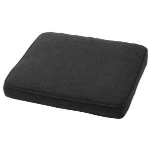 ЙЭРПОН/ДУВХОЛЬМЕН Подушка на садовый стул, темно-серый антрацит, 50x50 см - 893.048.71