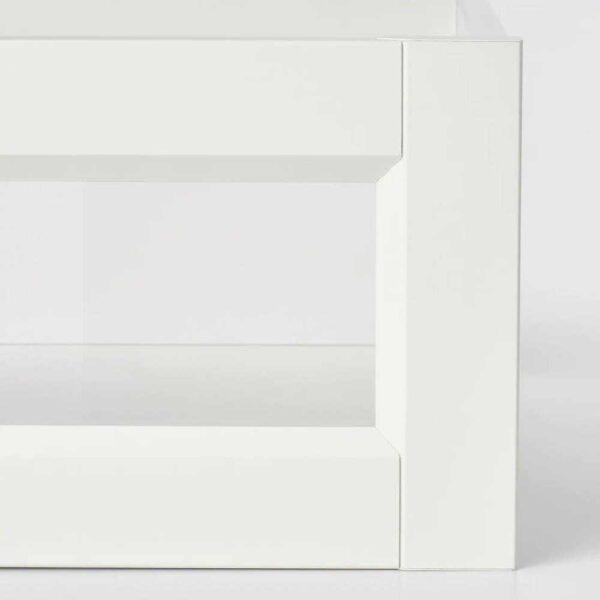 КОМПЛИМЕНТ Ящик/стеклянная фронтальная панель, белый, 100x58 см - 504.470.22