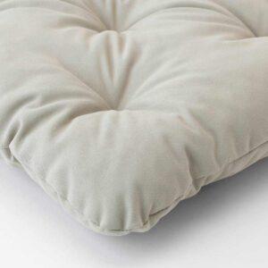 КУДДАРНА Подушка на садовый стул, серый, 36x32 см - 404.110.85
