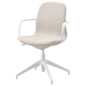 ЛОНГФЬЕЛЛЬ Рабочий стул с подлокотниками - 793.862.02