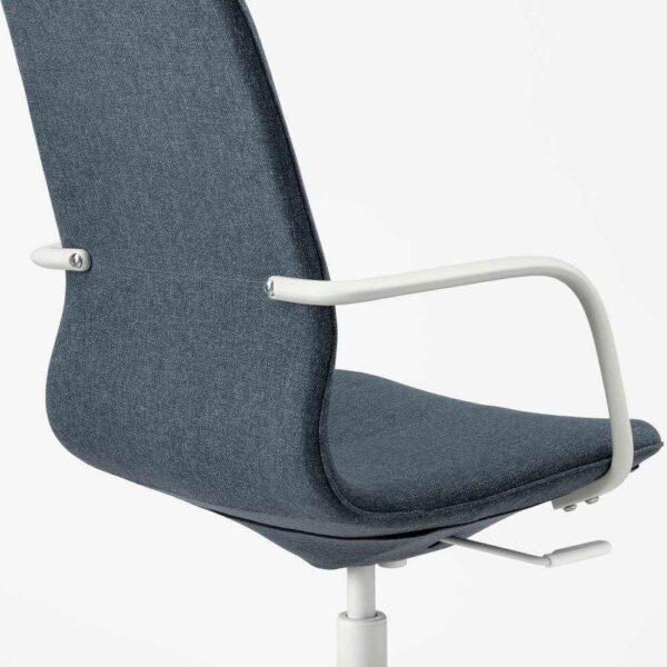 ЛОНГФЬЕЛЛЬ Рабочий стул с подлокотниками - 893.862.06