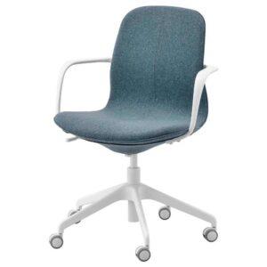 ЛОНГФЬЕЛЛЬ Рабочий стул с подлокотниками - 793.862.21
