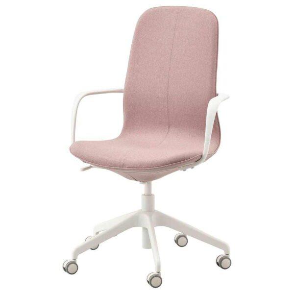 ЛОНГФЬЕЛЛЬ Рабочий стул с подлокотниками - 593.863.40