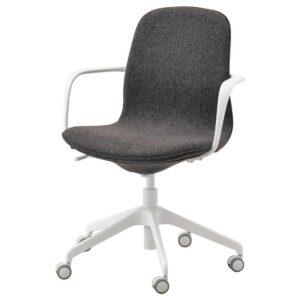 ЛОНГФЬЕЛЛЬ Рабочий стул с подлокотниками - 393.862.23