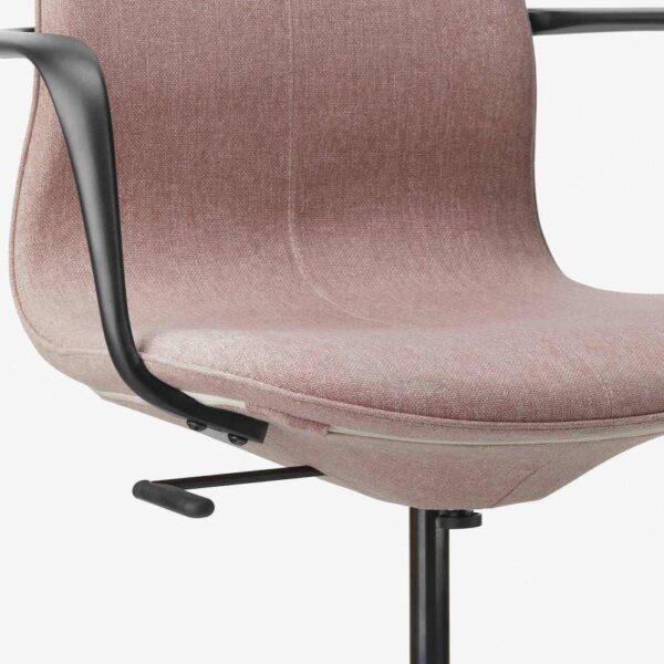ЛОНГФЬЕЛЛЬ Рабочий стул с подлокотниками - 593.863.64