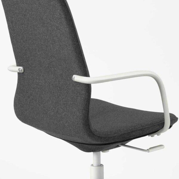 ЛОНГФЬЕЛЛЬ Рабочий стул с подлокотниками - 793.862.16