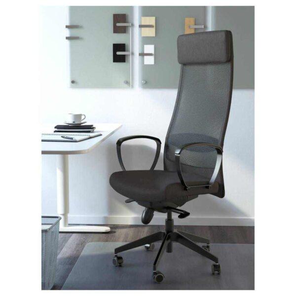 МАРКУС Рабочий стул, Висле темно-серый - 303.836.29