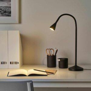 НЭВЛИНГЕ Рабочая лампа, светодиодная, черный - 804.049.12