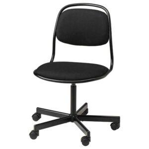 ОРФЬЕЛЛЬ Рабочий стул, черный, Висле черный - 593.030.76