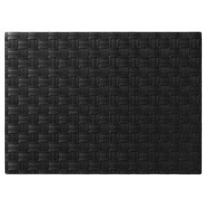 УРДЕНТЛИГ Салфетка под приборы, черный, 46x33 см - 704.471.01