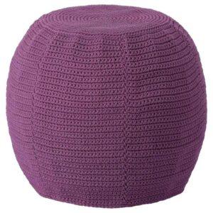 ОТТЕРЁН / ИННЕРСКЭР Пуф для дома/сада, фиолетовый, 48 см - 193.048.55