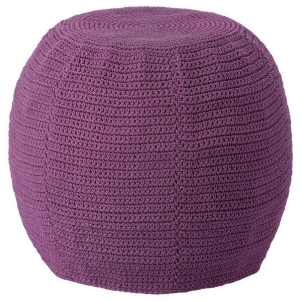 ОТТЕРЁН Чехол пуфа, для дома/сада, фиолетовый, 48 см - 804.453.85