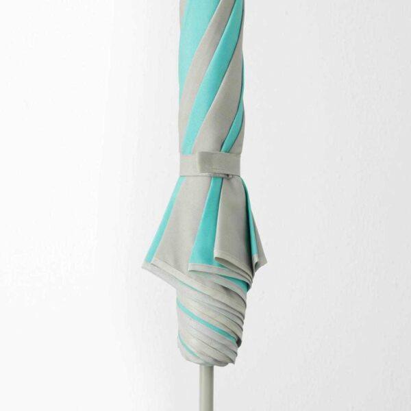 РАМСО Зонт от солнца, бирюзовый, светло-бежевый, 125 см - 503.895.45