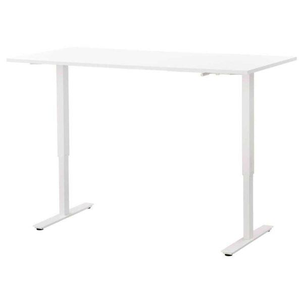 СКАРСТА Стол/трансф, белый, 160x80 см - 493.248.14