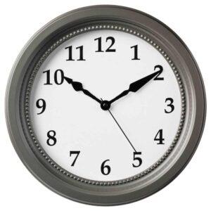 СЁНДРУМ Настенные часы, серый, 35 см - 604.662.08