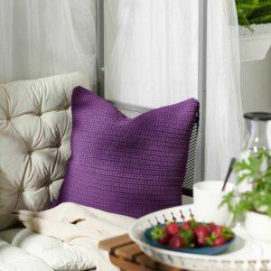 СЁТХОЛЬМЕН Чехол на подушку, д/дома/улицы, фиолетовый, 50x50 см - 904.392.75
