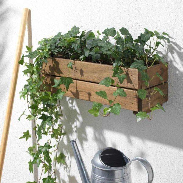 СТЭРНАНИС Ящик для цветов, для сада акация, 43x15 см - 104.510.92