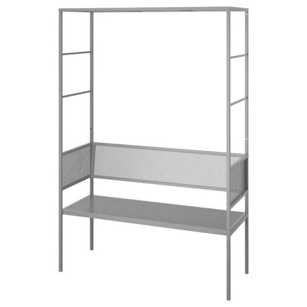 СВАНЁ Скамья для беседки, серый, 119x48 см - 904.114.17
