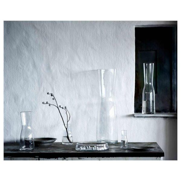 ТИДВАТТЕН Ваза, прозрачное стекло, 30 см - 304.612.45