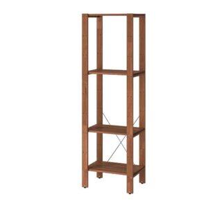 ТУРД Стеллаж, д/сада, коричневая морилка, 50x35x161 см - 793.161.72