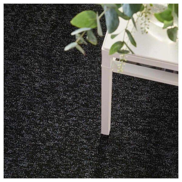 ТЮВЕЛЬСЕ Ковер, короткий ворс, темно-серый, 200x300 см - 504.253.22
