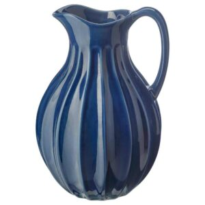 ВАНЛИГЕН Ваза/кувшин, синий, 26 см - 404.518.30