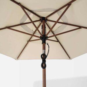 БЕТСО / ЛИНДЭЙА Зонт от солнца, коричневый под дерево, бежевый, 300 см - 793.247.23