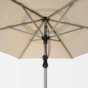 БЕТСО / ЛИНДЭЙА Зонт от солнца, серый под дерево, бежевый, 300 см - 193.247.35