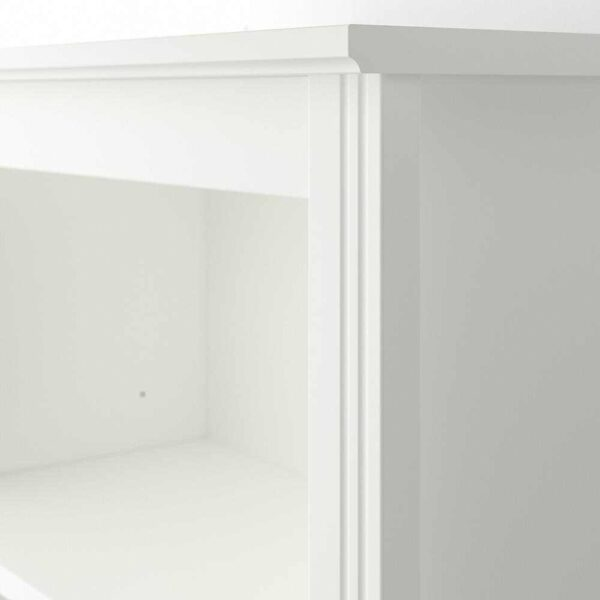 БРУСАЛИ Высокий шкаф с дверцей, белый, 80x190 см - 904.397.70