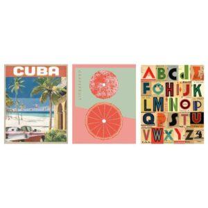 БИЛЬД Постер, Куба, 40x50 см - 504.731.91