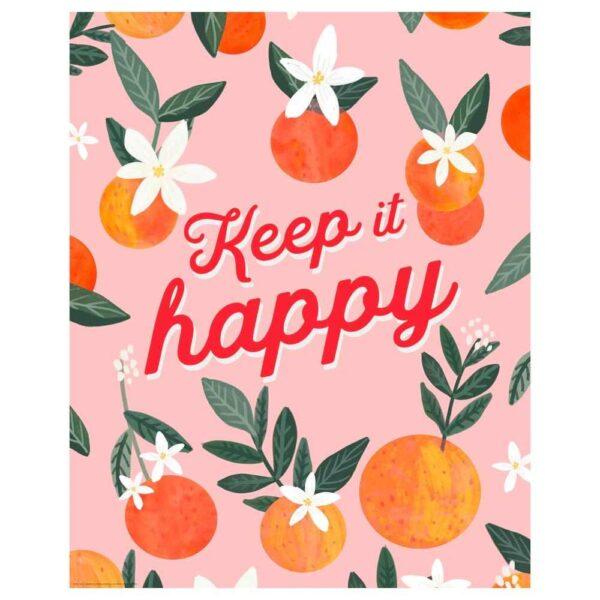 БИЛЬД Постер, Keep it happy, 40x50 см - 704.738.21