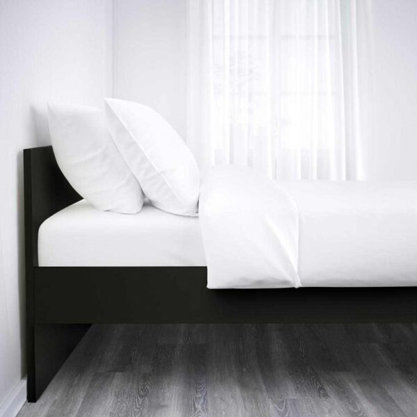 БРИМНЭС Каркас кровати, черный, Лурой, 160x200 см - 793.909.92