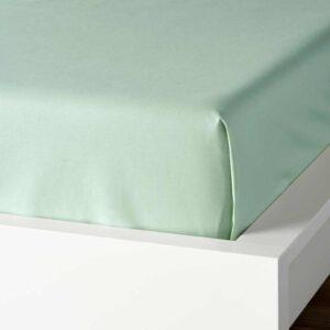 ДВАЛА Простыня, светло-зеленый, 150x260 см - 204.597.85