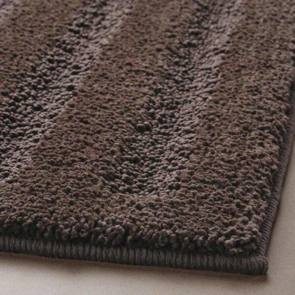 ЭМТЕН Коврик для ванной, темно-коричневый, 50x80 см - 004.686.96