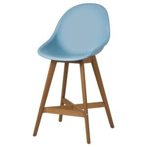 ФАНБЮН Барный стул для дома/сада, голубой, 64 см - 193.169.76