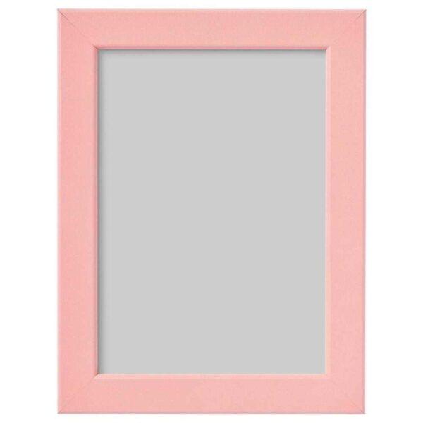 ФИСКБУ Рама, светло-розовый, 13x18 см - 004.647.16