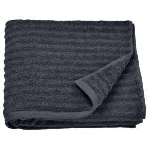 ФЛОДАРЕН Банное полотенце, темно-серый, 70x140 см - 404.686.99