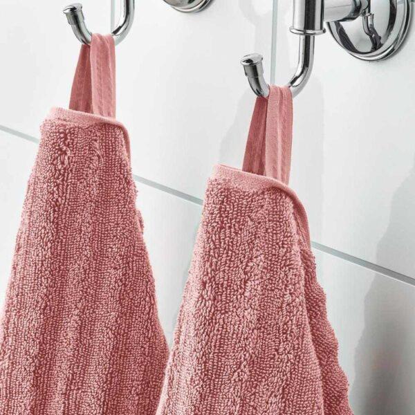 ФЛОДАРЕН Полотенце, светло-розовый, 50x100 см - 204.660.31