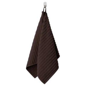 ФЛОДАРЕН Полотенце, темно-коричневый, 50x100 см - 404.691.42
