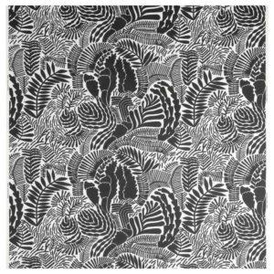ГАТКАМОМИЛЛ Ткань, белый, темно-серый, 150 см - 404.648.23