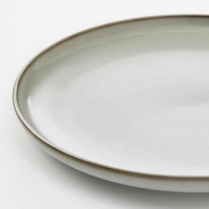 ГЛАДЕЛИГ Тарелка, серый, 25 см - 904.571.51