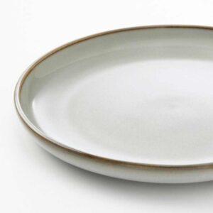 ГЛАДЕЛИГ Тарелка десертная, серый, 20 см - 904.571.46