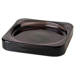 ГЛАСИГ Тарелка для свечи, черный, 10x10 см - 704.835.37