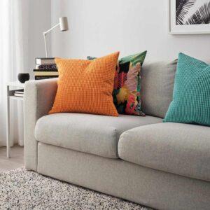 ГУЛЛЬКЛОКА Чехол на подушку, оранжевый, 50x50 см - 504.685.66