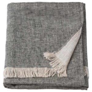 ГУЛЬТАЛЛ Плед, серый, 130x170 см - 104.847.47