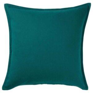 ГУРЛИ Чехол на подушку, темно-зеленый, 50x50 см - 204.261.96