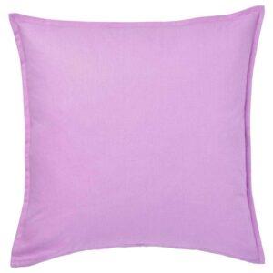 ГУРЛИ Чехол на подушку, светло-сиреневый, 50x50 см - 404.650.16