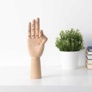 ХАНДСКАЛАД Украшение, «рука», естественный - 804.784.27