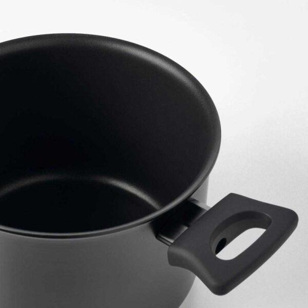 ХЕМЛАГАД Кастрюля с крышкой, черный, 3 л - 604.622.05